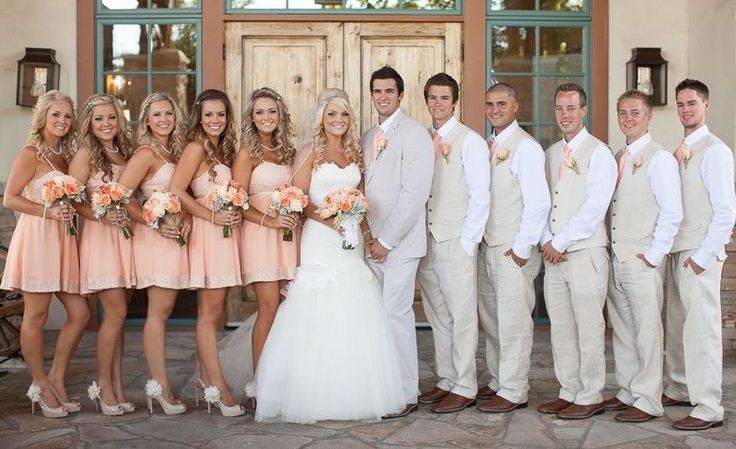 professional photo of wedding party